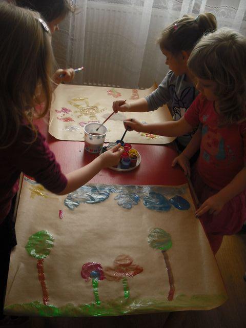 Zabawy Dzieci W Przedszkolu